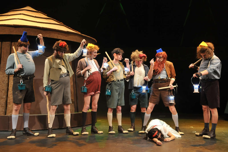 Mr pavel snow white and the seven dwarfs sněhurka